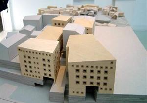 某高校建筑系学生作业展览