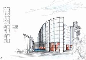 建筑设计学生作业JPG方案图