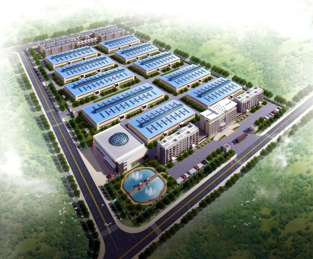 城市高开区综合工业园厂区规划设计