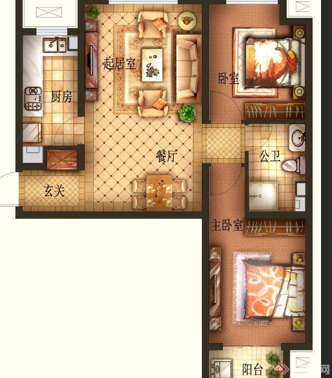 柜 户型 户型图 家居 家具 平面图 666_757