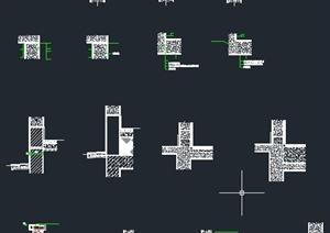 建筑节点墙体设计CAD图