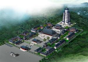 寺庙建筑设计