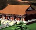 寺庙建筑,文化建筑,古建筑,单层建筑,台阶