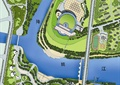 滨江公园,滨江城市,城市规划,平面布置图,平面布置