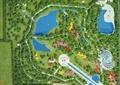 公园景观,手工模型,公园设计