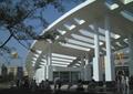 广场景观,坐凳,地面铺装,廊架,廊架柱