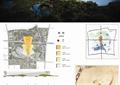 城市规划,城市景观,河流景观,景石,森林,道路