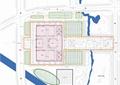 展览馆规划,道路