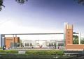 学校景观,学校广场,大门入口,学校大门