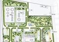 园路,景观树,工业建筑,工厂景观规划