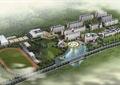 水体景观,道路,草坪,运动场,景观树,教育建筑,校园景观规划