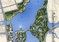 河道规划,河道景观,滨水景观