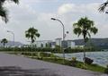 景观树,?#36820;?道路,地面铺装,草坪,水体景观,综合建筑,滨水景观