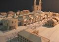 手工模型,住宅小镇,住宅建筑