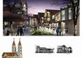 步行街,商業街,商業建筑,商業環境