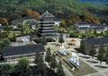寺庙,庙宇,塔楼,文化建筑,喷泉水景,文化景观,凉亭