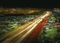道路景观,城市道路,道路夜景