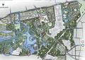 城市规划,水体景观,草坪,道路,建筑