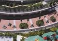 小区景观,种植池,树池,长廊,游乐设施