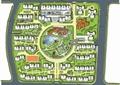 小区规划,住宅景观规划,道路,住宅建筑,河流景观,景观树
