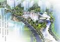 水体景观,道路,景观树,喷泉水景,文化建筑,公园景观