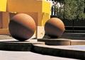 球体,小品雕塑,地面铺装,小品素材
