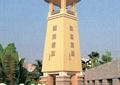 景观塔,塔楼,围墙