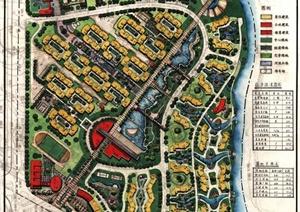 学生作业——住宅小区规划展板