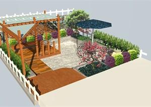 住宅庭院景观设计(JPG、PSD)