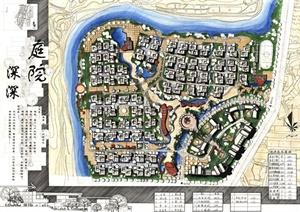 某住宅小区建筑景观设计JPG方案图
