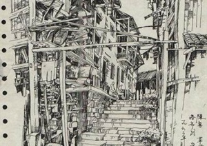 手绘建筑方案JPG图
