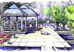 64张手绘建筑设计JPG方案图