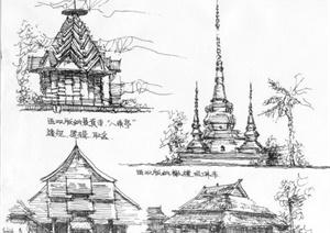 关于手绘建筑设计JPG方案图