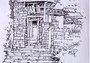 64张手绘建筑方案