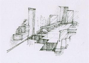 室内装修设计JPG手绘图