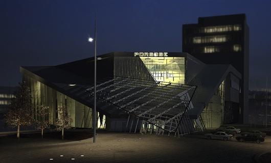 畢業設計 保時捷4S店設計