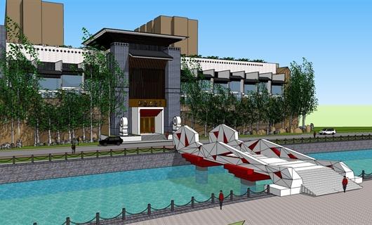 酒店外观规划设计项目