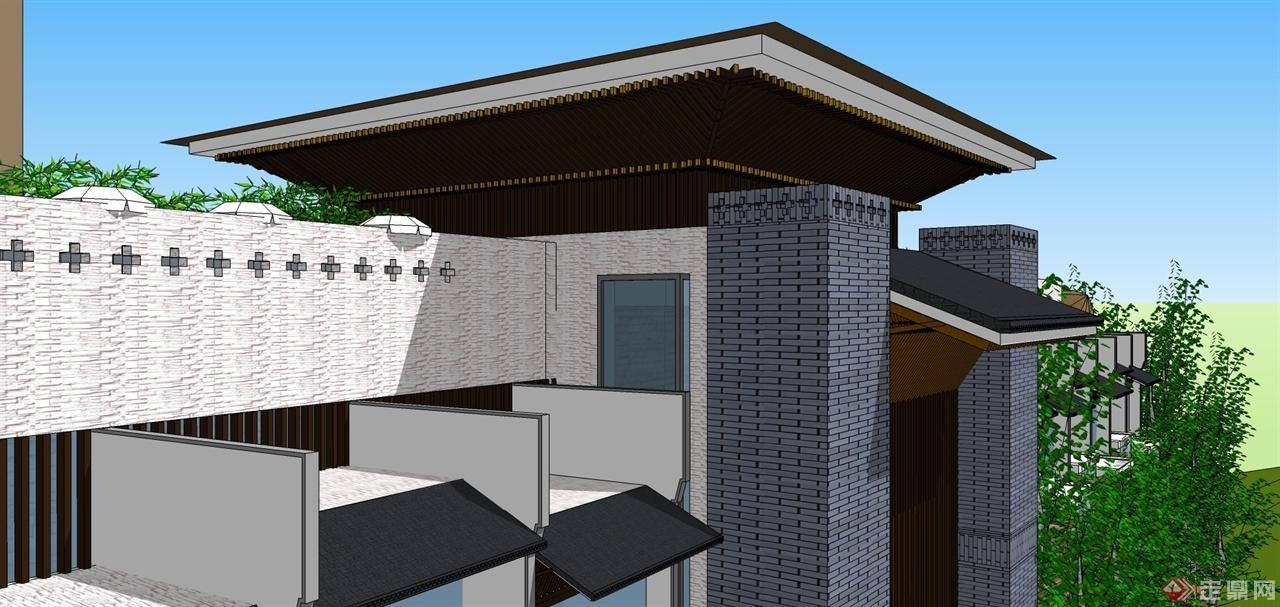 酒店外觀規劃設計項目