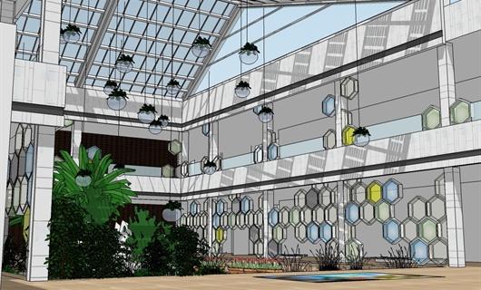 科普馆中庭设计方案