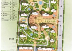 居住区住宅区园林景观设计方案项目资料素材下载