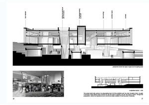 现代某多层建筑设计JPG毕业设计