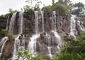 瀑布,山体,岩石景观