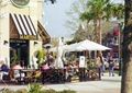 咖啡馆,门面设计,栏杆,遮阳伞,遮雨棚
