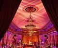 水晶吊燈,背景墻,裝飾擺件,天花吊頂