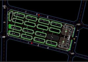 某地产业园规划设计CAD总图