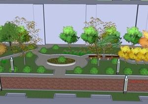 学生作业——某居住小区游园景观设计