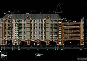 英伦风格教学楼建筑设计施工图