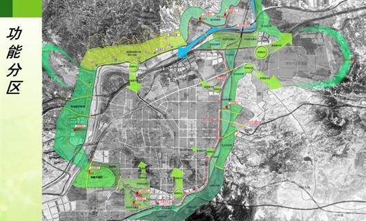 巩义市环城绿带规划