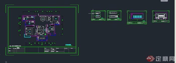 cad2016切换到模型空间-cad切换空间弧度_cacad怎么画中模型图片