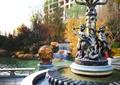 雕塑,灯具,喷泉水池景观,灯箱,住宅景观